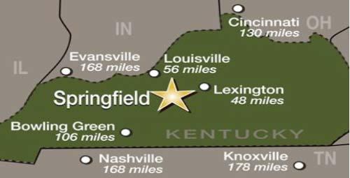 Springfield Map 1